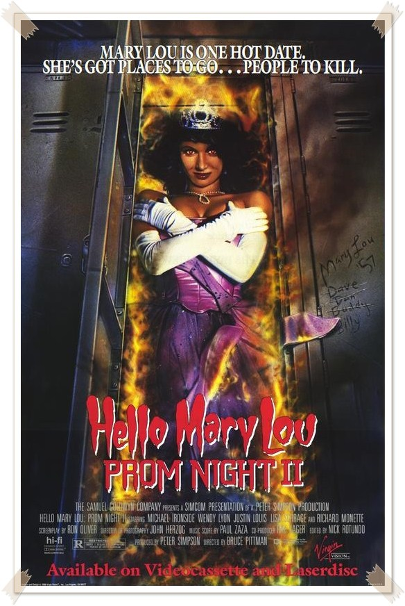 Hello Mary Lou - Prom Night II poster (2)