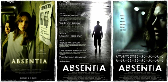 Absentia posterler