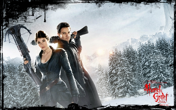 Hansel Gretel Witch Hunters poster1