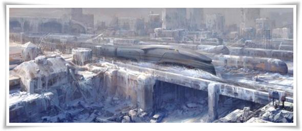 Snowpierecer Concept Art 6