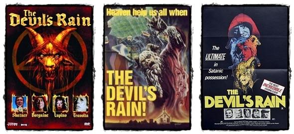 The Devils Rain posterler