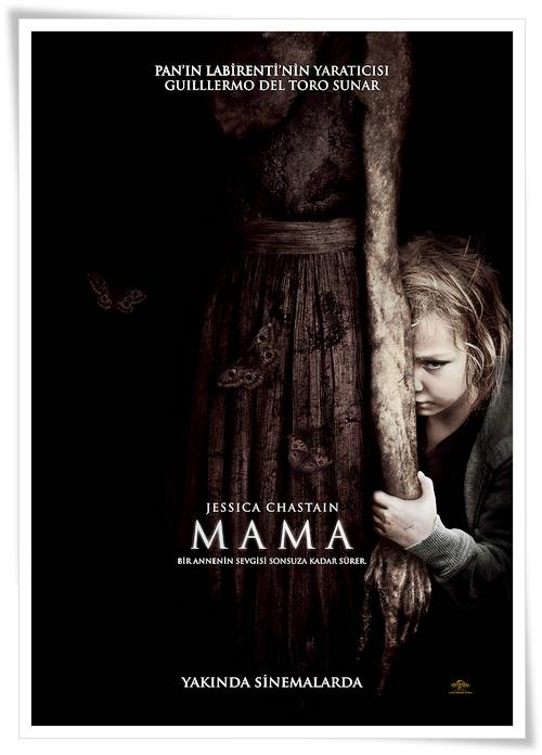 mama poster Mamá (2008) Mama kısa film Guillermo del Toro Andres Muschietti