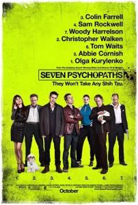 Seven Psychopats poster
