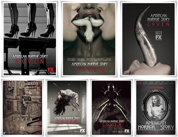 American Horror Story Coven posterler