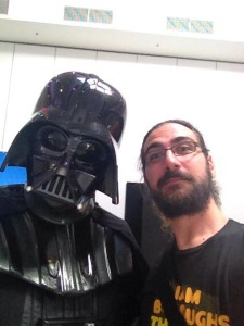 Oz Comic Con'dan Darth Vader hatırası