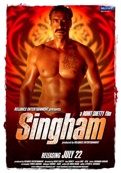 Singham poster 2