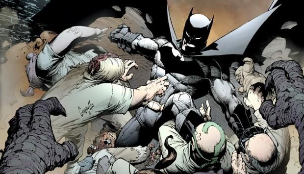 Batman V1 Court Of Owls Kapak Büyük