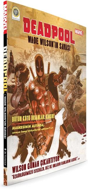 Deadpool WWS 3D Kapak