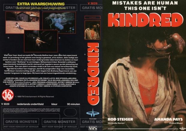 The Kindred VHS kapak 1