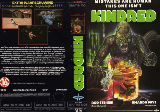 The Kindred VHS kapak 2
