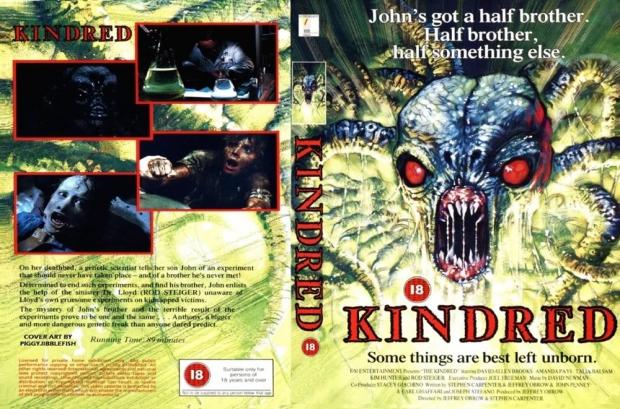 The Kindred VHS kapak 3