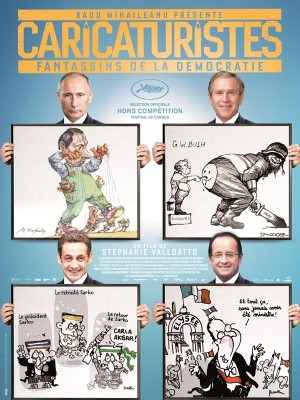 Cartoonists Foot Soldiers of Democracy poster