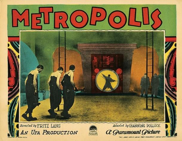 Lot 24 Metropolis lobby card.