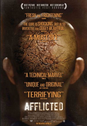 afflicted