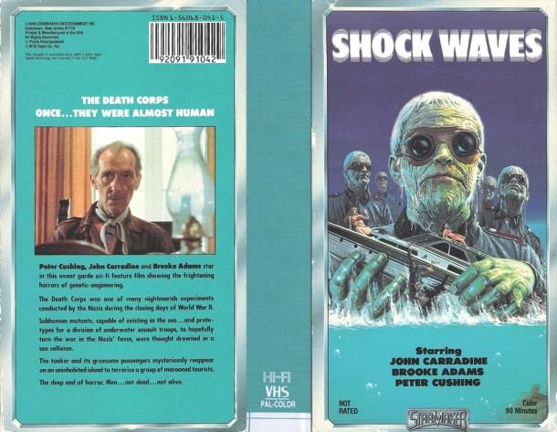Shock Waves VHS kapak 1