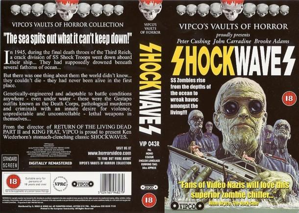 Shock Waves VHS kapak 2