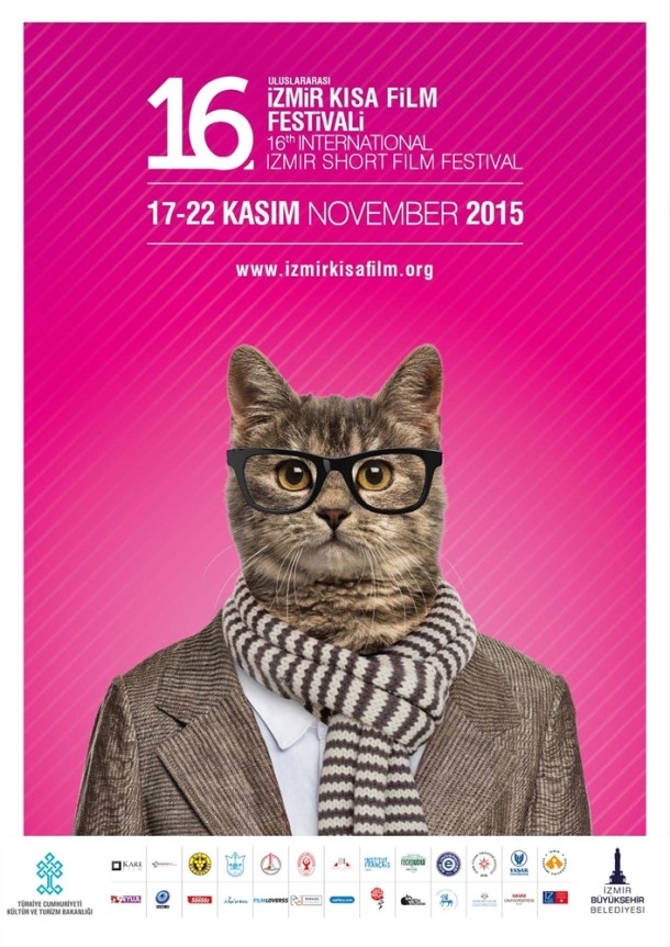 16 İzmir Kısa Film Festivali Afiş