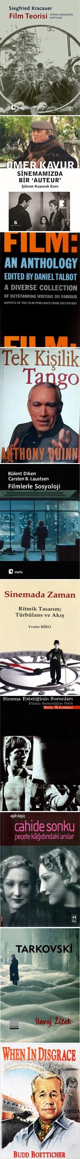 En İyi Sinema Kitapları 2015
