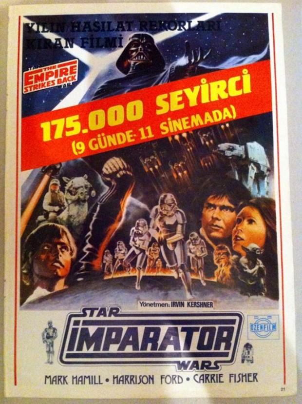 Star Wars afiş