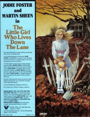 little girl who lives down the lane vestron vhs ad