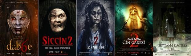 Türk Korku Sineması 2015 seriler poster