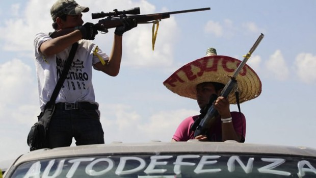 Cartel Land autodefensas