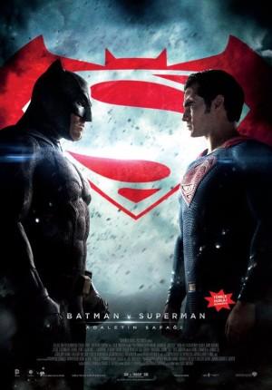 Batman v Superman afiş