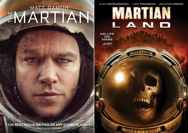 Martian Land The Asylum
