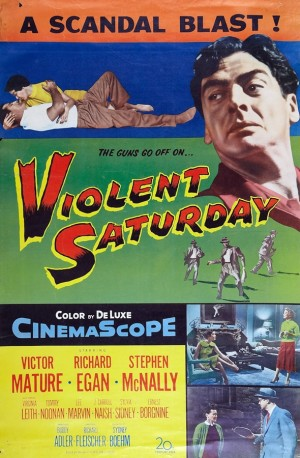 Violent Saturday poster 1