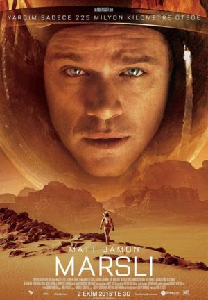 The Martian poster