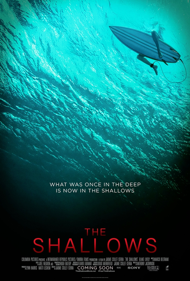 The Shallows Karanlık Sular poster