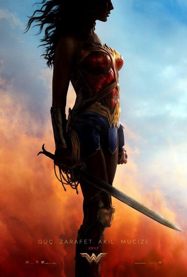 Wonder Woman teaser afiş