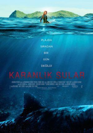 The Shallows Karanlık Sular afiş