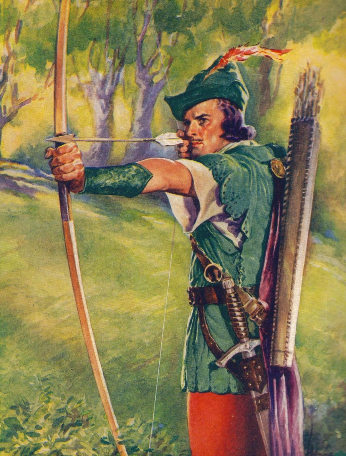 Bir zamanlar Robin Hood böyle tasvir ediliyordu.